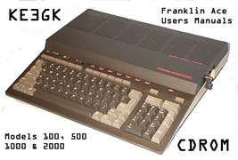 Franklin Ace 100, 500, 1000 & 2000 Users Manual... - $8.99