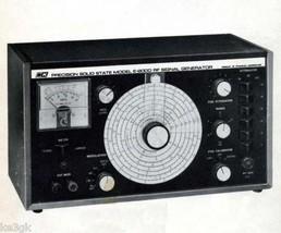 B&K E200D Signal Generator Instruction Manual - $7.99