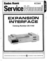 TRS-80 Expansion Interface Service Manual * PDF * CDROM - $9.99