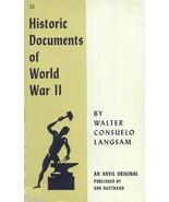 Historic Documents of World War 2 - $9.99