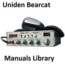 Uniden Bearcat Service & Instruction Manual Library - $9.99