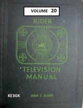 Riders Television Manual * Volume 20 * CDROM * PDF * TV Schematics - $12.99