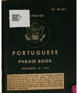 Portuguese Phrase Book * War Department 1943 * CDROM - $7.99