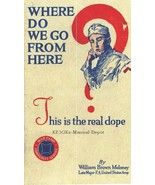 WHERE DO WE GO FROM HERE by William Brown Melony * WWI * CDROM - $7.99