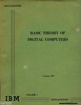 Basic Theory of Digital Computers - $7.99