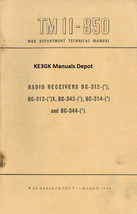 TM 11-850 BC-312 BC-314 BC-342 BC-344 Radio Receivers Manuals * CDROM - $12.99