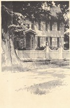 Original 1922 Print of a House in Litchfield Ct... - $13.99