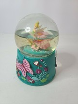 Disney Tinkerbell Little Pixie Dust Musical Christmas Water Snowglobe 5.... - $39.99