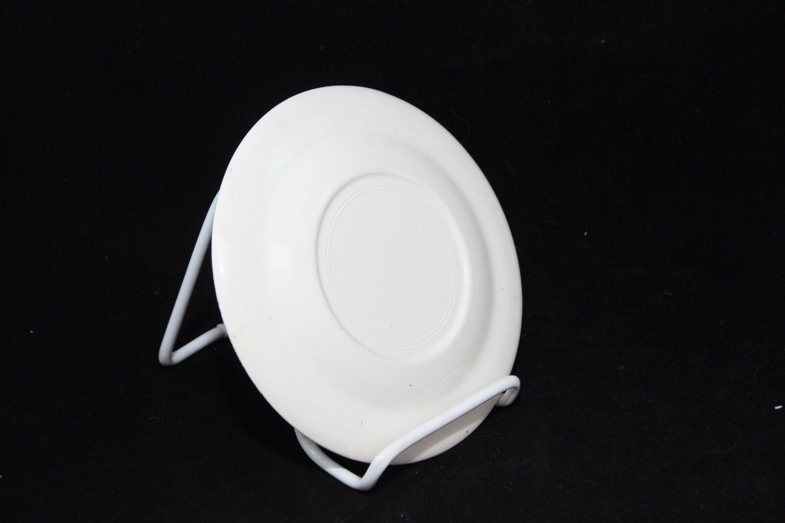 "Sebring Robin Hood Salad Dessert Plates 6-1/4"" Set of 4 + 2 image 7"