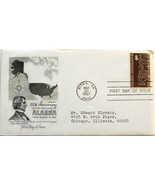 March 30, 1967 First Day of Issue, Artmaster Cover, Alaska Purchase Air ... - €2,35 EUR