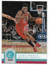 2016-17 Panini Excalibur Lord #66 Clint Capela NM-MT Rockets - $0.99