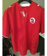 AUTHENTIC PUMA SWITZLAND HOME SOCCER JERSEY STYLE 732046-16 SIZE LARGE - €34,14 EUR