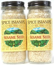 2 Count Spice Islands 2.5 Oz Sesame Seed Add To A Variety Of Dishes BB 4... - $14.99