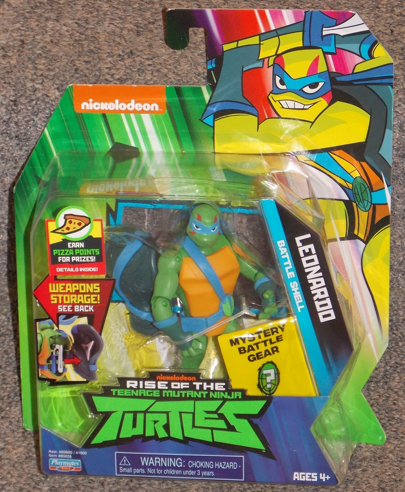 Primary image for 2018 Nickelodeon Teenage Mutant Ninja Turtles Leonardo Figure New In The Package