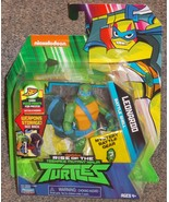 2018 Nickelodeon Teenage Mutant Ninja Turtles Leonardo Figure New In The... - $24.99