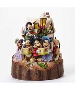 """7.25"""" """"Holiday Harmony"""" Mickey, Pluto, Donald Duck- Jim Shore Disney Tra... - $118.79"""