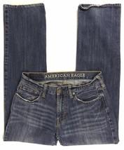 AMERICAN EAGLE Men's Original Straight Zipper Fly Medium Wash Size 30 x ... - $526,37 MXN