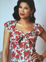 Butterick Sewing Pattern 6217 Ladies Misses Blouse Size 12-20 New Gestie - $18.16