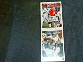 John Elway #7 Denver Broncos and Dan Reeves Trading Cards AA-19FTC3005a Vintage image 6