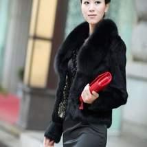 Faux Fur Short Jacket For Women - $59.00