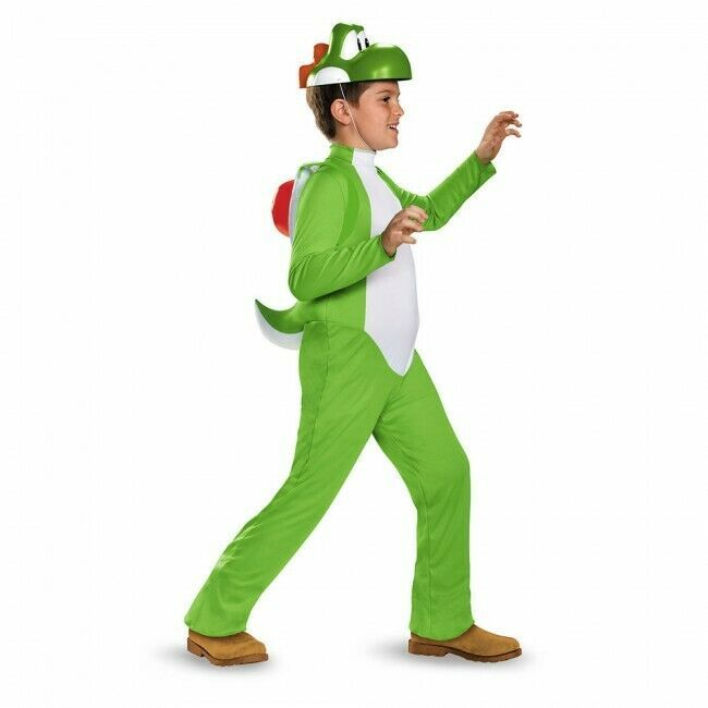 Disguise Nintendo Super Mario Yoshi Deluxe Kinder Halloween Kostüm 85140