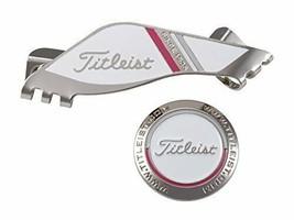 Titleist green marker edge golf clip marker unisex AJBM71-WT White - $62.53