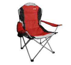 Folding Camping Chair Padded Seat Back Festivals Deck Beach Outdoor Furniture  - $80.84