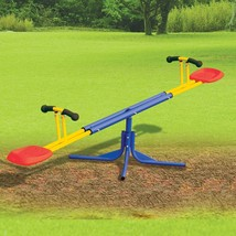 Rotating Outdoor Seesaw Outdoor Kids Kid Teeter Play Toy Playground Equi... - $99.99