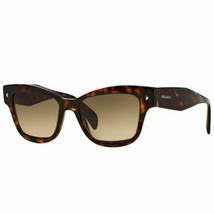 New Prada Sunglasses SPR29R 2AU3D0 51MM Tortoise / Brown Gradient Fast Ship - $138.59