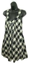 Twenty One Dress Juniors Size Small Sleeveless Pockets Plaid Flowy XXI S... - $9.88