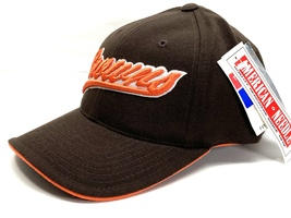 "Cleveland Browns Vintage NFL 20% Wool Script 3-D ""Browns"" Cap (New) By A... - $24.99"