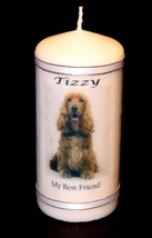 Personalised Candle Gifts Unique Keepsake Best Friend Present Dog Image ... - $17.95