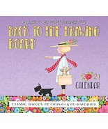 Mary Engelbreit 2021 Deluxe Wall Calendar: Back to the Drawing Board Eng... - $7.43