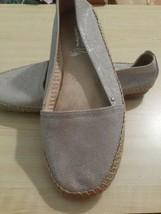NEW Aerosoles Stitch N Turn Gold Metallic Loafer Flats 10M - $30.00