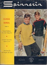 Spinnerin Yarn Craft Magazine Classic Manual Part II for Boys and Girls ... - $4.99