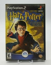Harry Potter & the Chamber of Secrets (Sony PlayStation 2, PS2 2002) Game & Box - $9.78