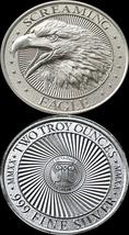 2021 2oz Screaming Eagle Silver Round High Relief…INTAGLIO MINT - $85.00