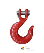 "(2) 1/4"" SLIP HOOK CLEVIS RIGGING TOW WINCH TRAILER G70 CRANE WRECKER LI... - $12.13"