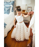 Cute Two Piece Flower Girl Dresses for Wedding  - $79.99+