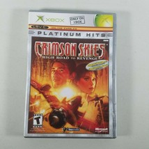 Crimson Skies High Road to Revenge Xbox 2003 Platinum Hits Rated T - $7.99