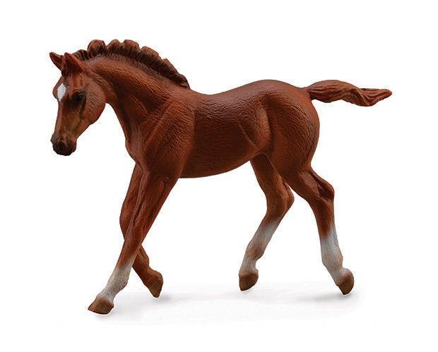 Primary image for <><  Breyer CollectA 88670 Chestnut Thoroughbred Foal -  exceptional horse