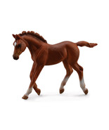 <><  Breyer CollectA 88670 Chestnut Thoroughbred Foal -  exceptional horse - $5.85