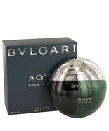 Bvlgari Aqua Pour Homme Cologne 3.4 Oz Eau De Toilette Spray - $80.98