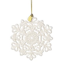 Lenox Annual China Ornaments 2017 Snow Fantasies Snowflake Crafted of Po... - $20.00