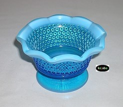 Westmoreland American Hobnail Blue Opalescent M... - $17.95
