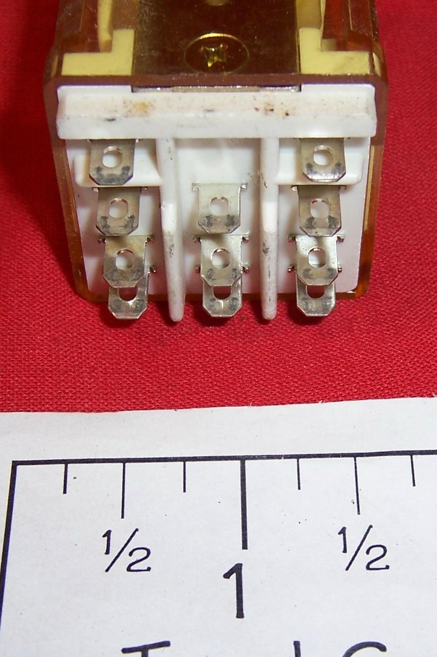 6 used relays RR2BA-U  AC120V