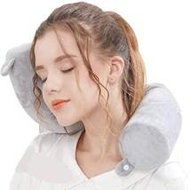 Lucear Twist Memory Foam Travel Pillow Neck, Chin, Lumbar Leg Support (G... - $32.66