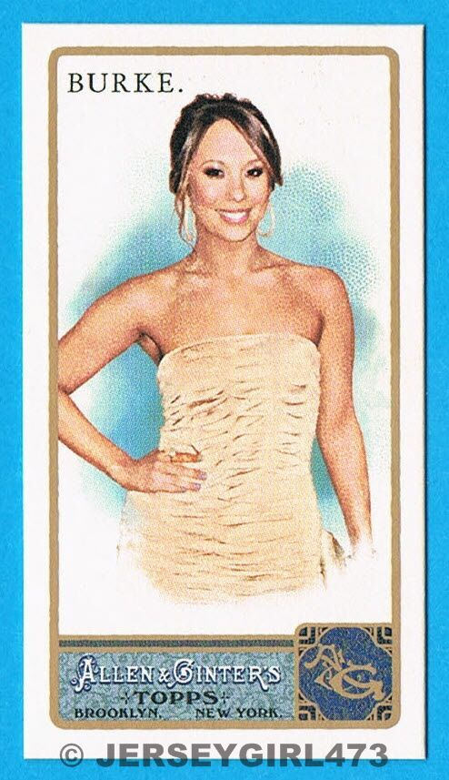 Cheryl Burke 2011 Topps Allen & Ginter's Mini Card #242 ~ DANCING WITH THE STARS
