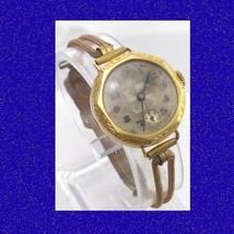 Vintage  & Retro Elegant 14k Swiss Art Deco Ladies Cocktail  Wrist Watch... - $172.18