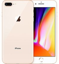 "Apple iPhone 8 Plus 5.5"", 256 GB, Fully Unlocked, Gold"